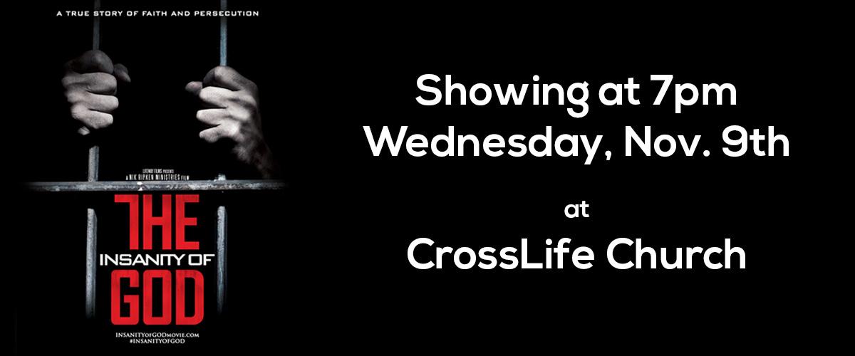 The Insanity of God – CROSSLIFE Church